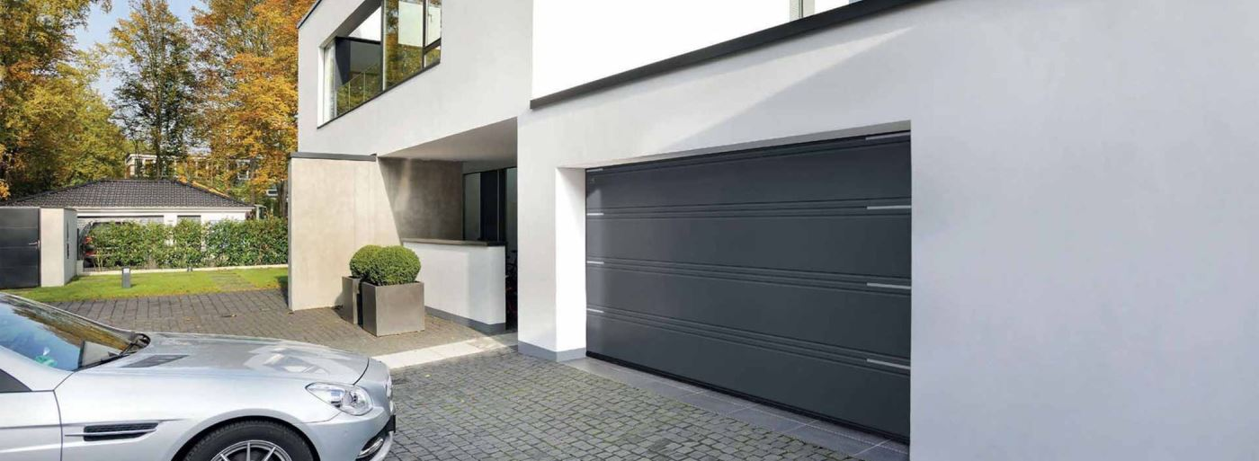 Porte de garage sectionnelle hormann continental for Marque de porte de garage sectionnelle