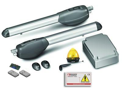 Kit d'automatismes pour portails battants R20/310 en 230 V
