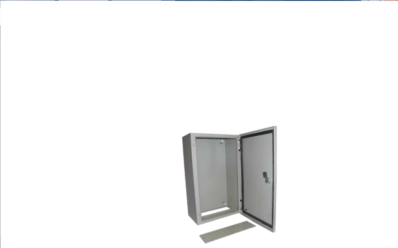 armoire m tallique murale 500 x 400 x 200 mm laqu poxy avec serrure et jeu de pattes. Black Bedroom Furniture Sets. Home Design Ideas